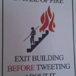 In case of fire…